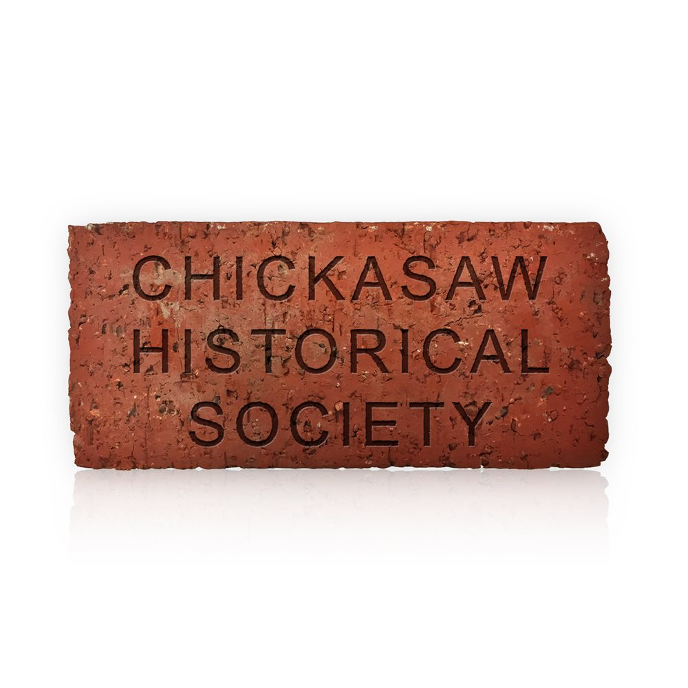 Chickasaw Historical Society Memorial Brick