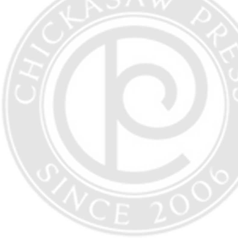 Chickasaw Press Background Logo